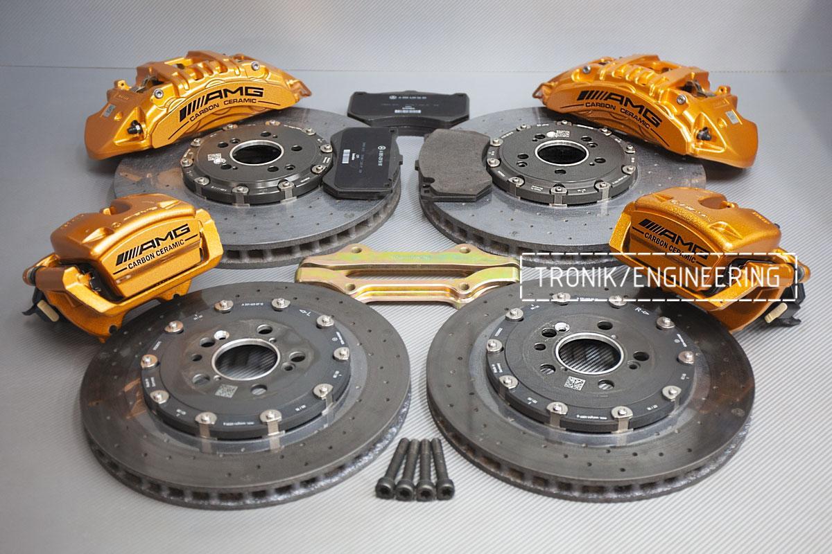 Карбон-керамическая тормозная система Mercedes-Benz AMG GT53 W290. Фотография 2