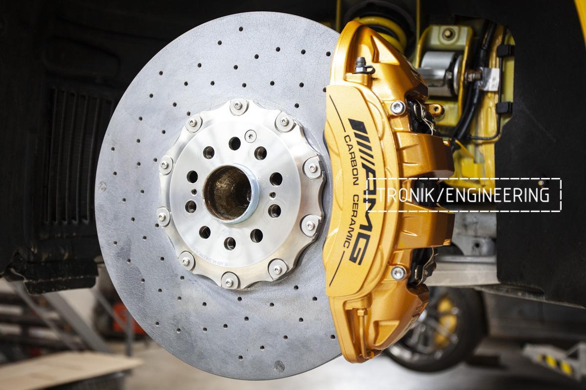 Карбон-керамическая тормозная система Mercedes-Benz AMG GT. Фотография 7