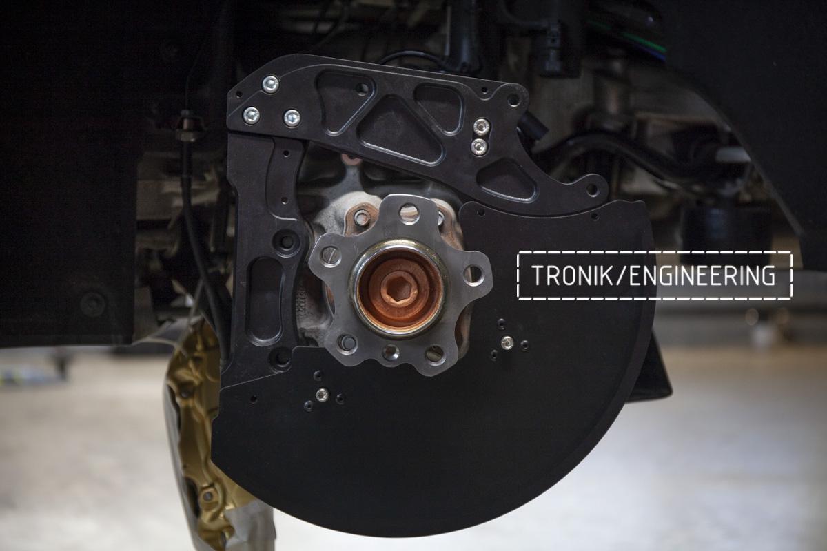 Карбон-керамическая тормозная система BMW G12. Фотография 17