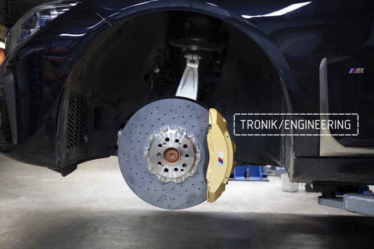 Карбон-керамическая тормозная система BMW G12. Фотография 14