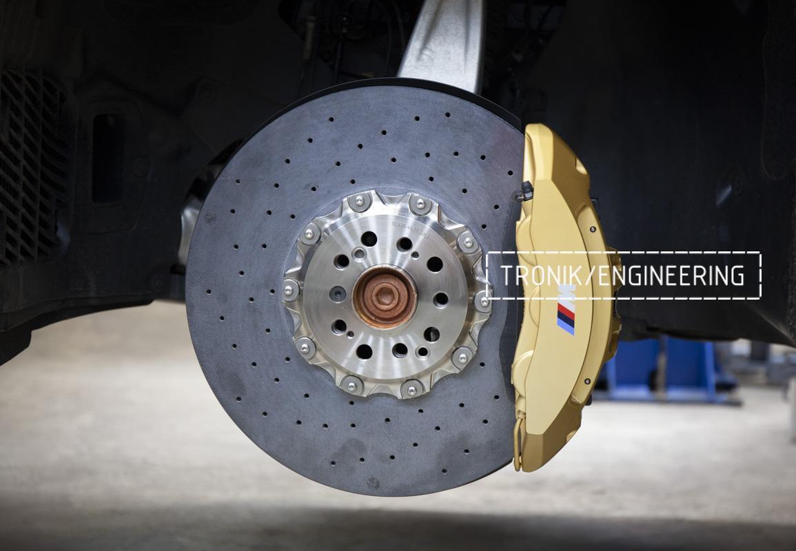 Карбон-керамическая тормозная система BMW G12. Фотография 15