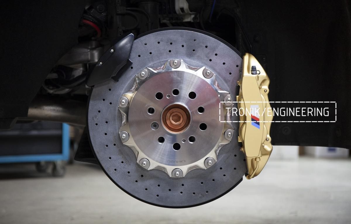 Карбон-керамическая тормозная система BMW G12. Фотография 18