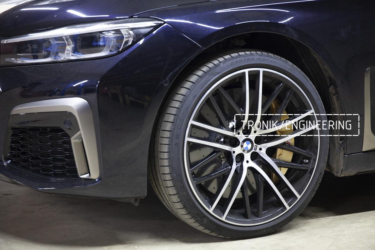 Карбон-керамическая тормозная система BMW G12. Фотография 1
