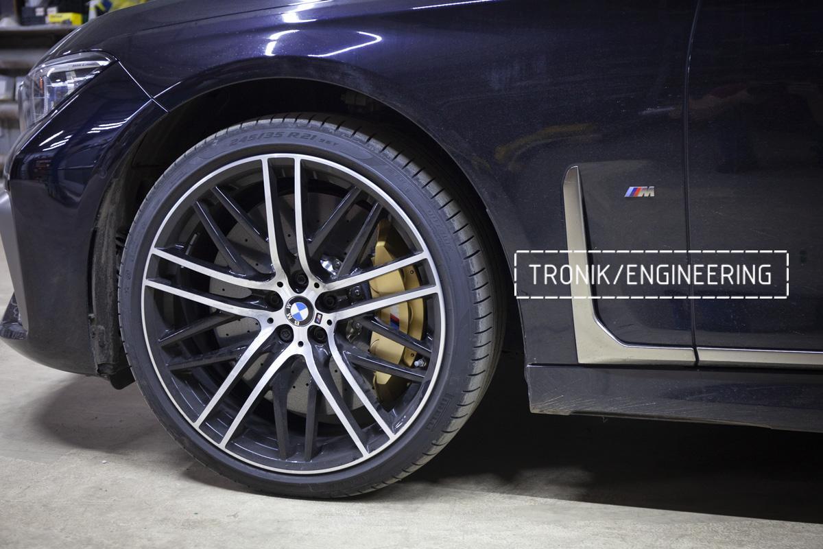 Карбон-керамическая тормозная система BMW G12. Фотография 19