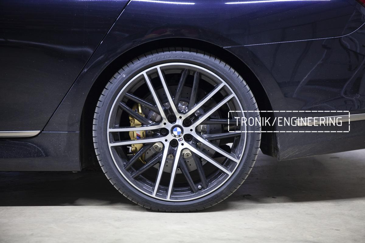 Карбон-керамическая тормозная система BMW G12. Фотография 24