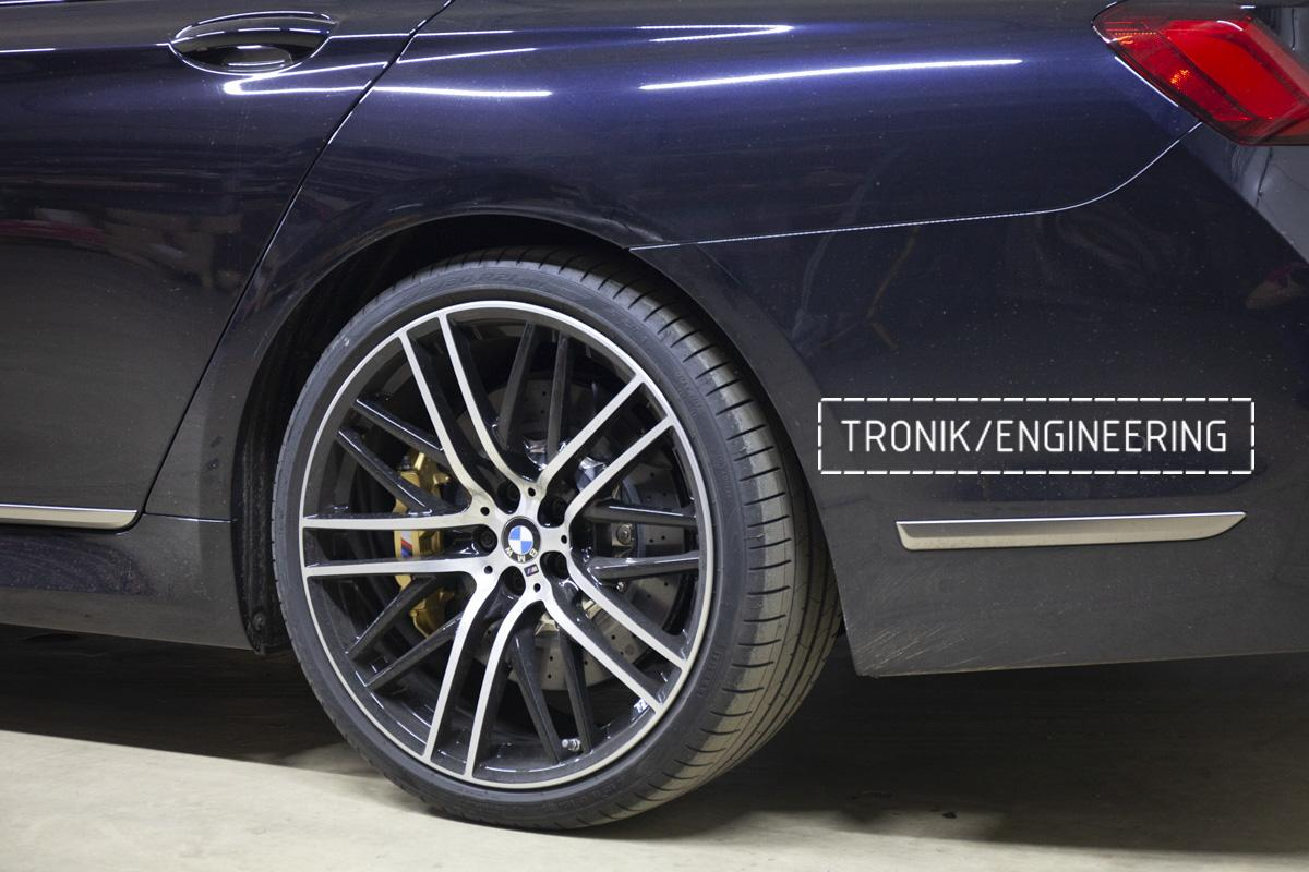 Карбон-керамическая тормозная система BMW G12. Фотография 20
