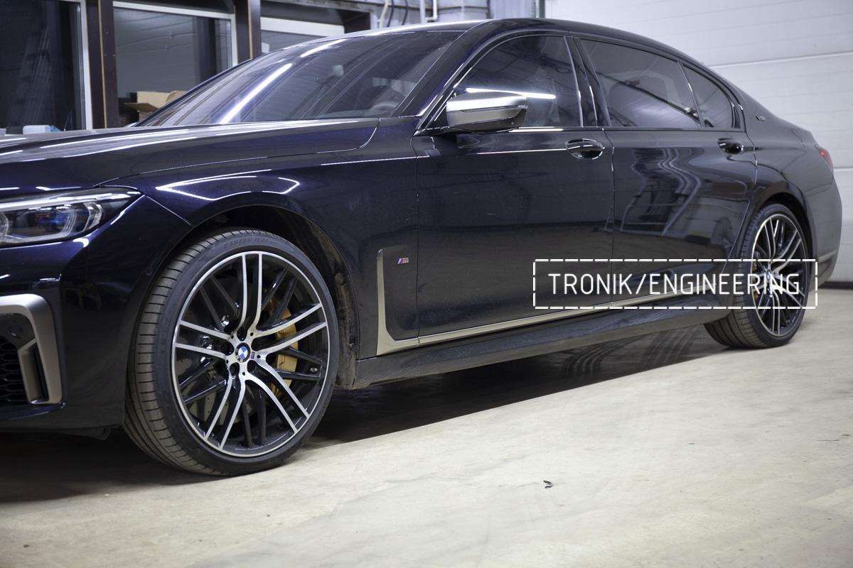 Карбон-керамическая тормозная система BMW G12. Фотография 22