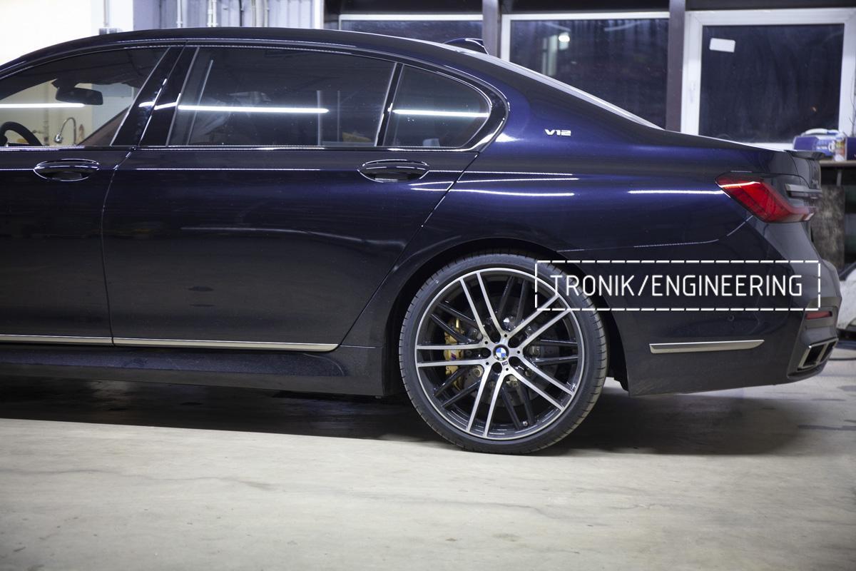 Карбон-керамическая тормозная система BMW G12. Фотография 21