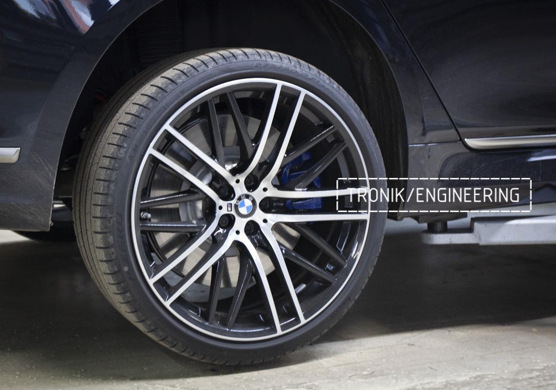 Карбон-керамическая тормозная система BMW G12. Фотография 3