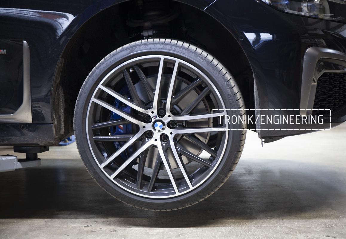 Карбон-керамическая тормозная система BMW G12. Фотография 2