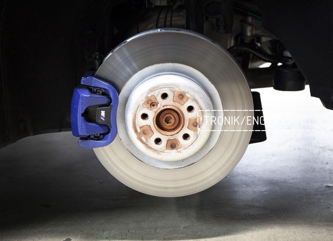 Карбон-керамическая тормозная система BMW G12. Фотография 5