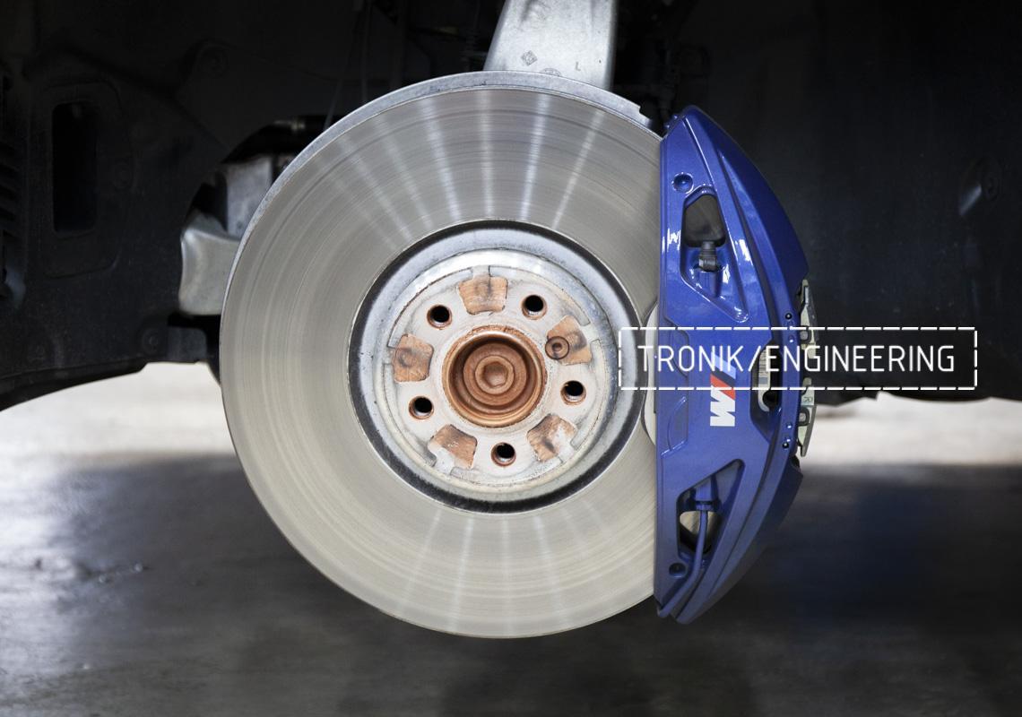 Карбон-керамическая тормозная система BMW G12. Фотография 4