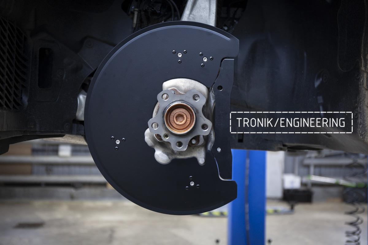 Карбон-керамическая тормозная система BMW G12. Фотография 13