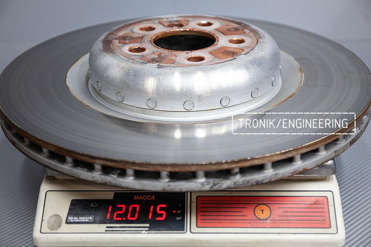 Карбон-керамическая тормозная система BMW G12. Фотография 11