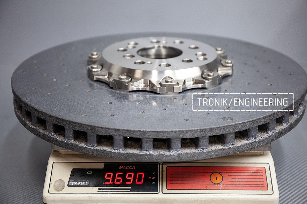 Карбон-керамическая тормозная система BMW G12. Фотография 10
