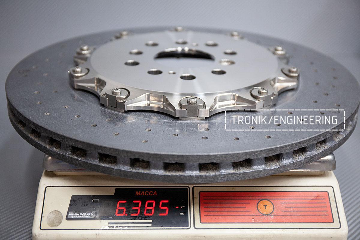 Карбон-керамическая тормозная система BMW G12. Фотография 12