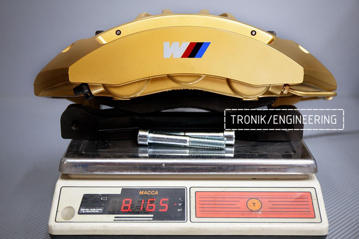 Карбон-керамическая тормозная система BMW G12. Фотография 7