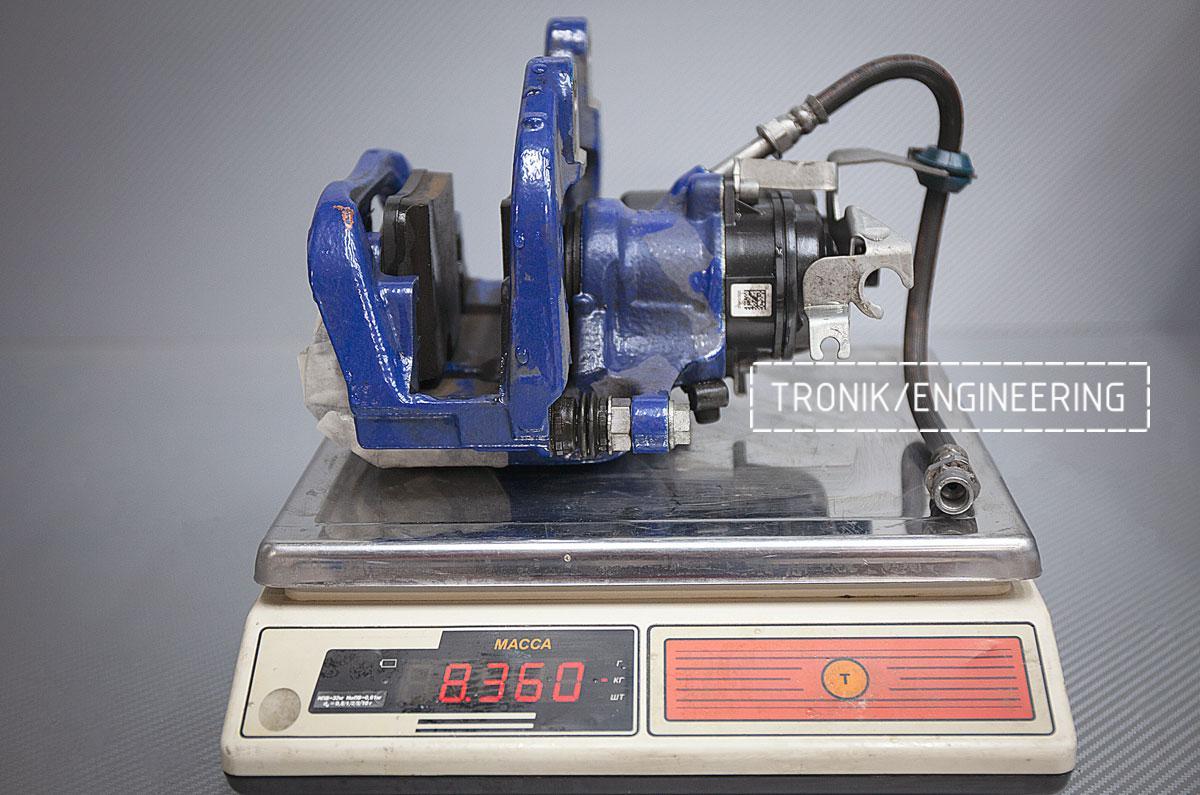 Карбон-керамическая тормозная система BMW G12. Фотография 8