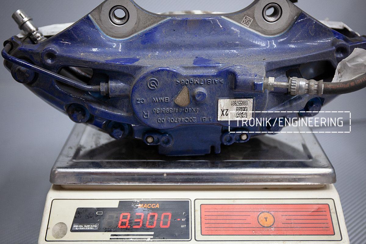 Карбон-керамическая тормозная система BMW G12. Фотография 6