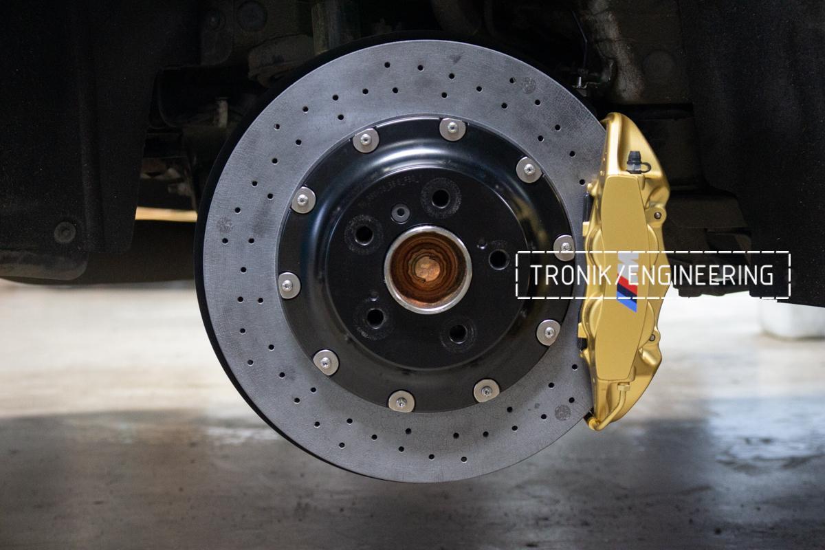 Комплект карбон-керамической тормозной системы BMW 240i F22. Фотография 13