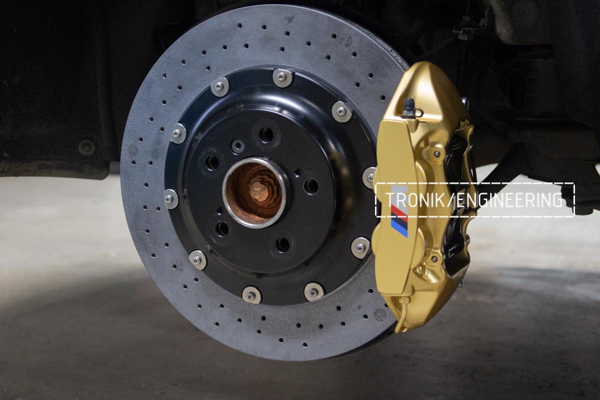 Комплект карбон-керамической тормозной системы BMW 240i F22. Фотография 14