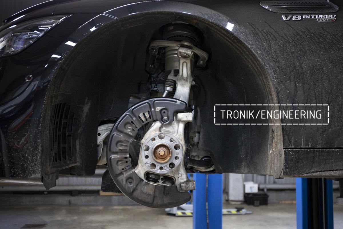 Карбон-керамическая тормозная система Mercedes-Benz AMG GT W290. Фотография 6