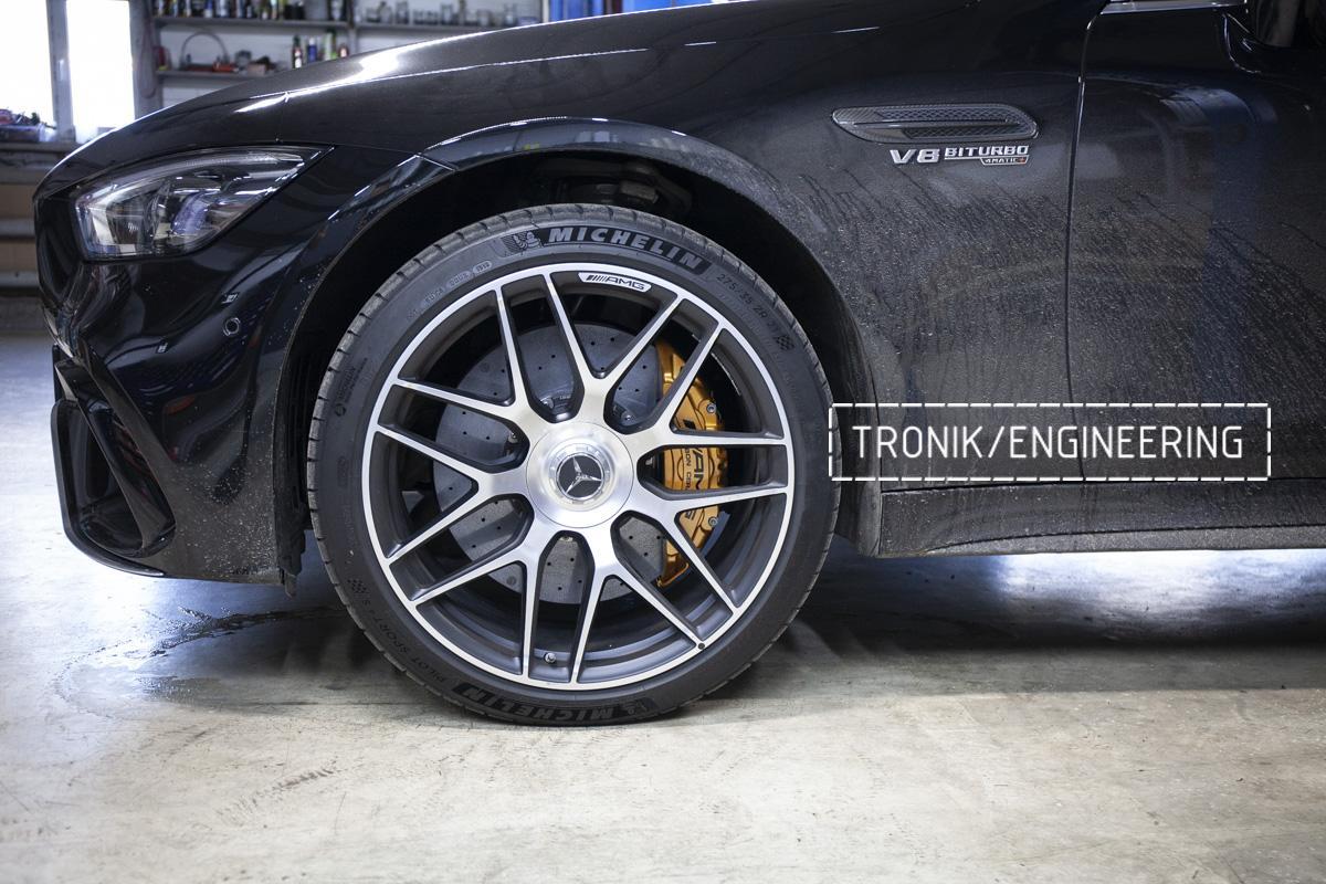 Карбон-керамическая тормозная система Mercedes-Benz AMG GT W290. Фотография 17
