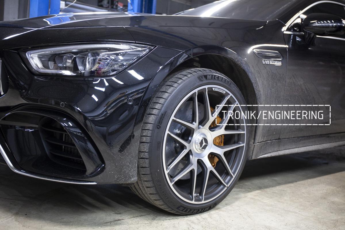 Карбон-керамическая тормозная система Mercedes-Benz AMG GT W290. Фотография 16