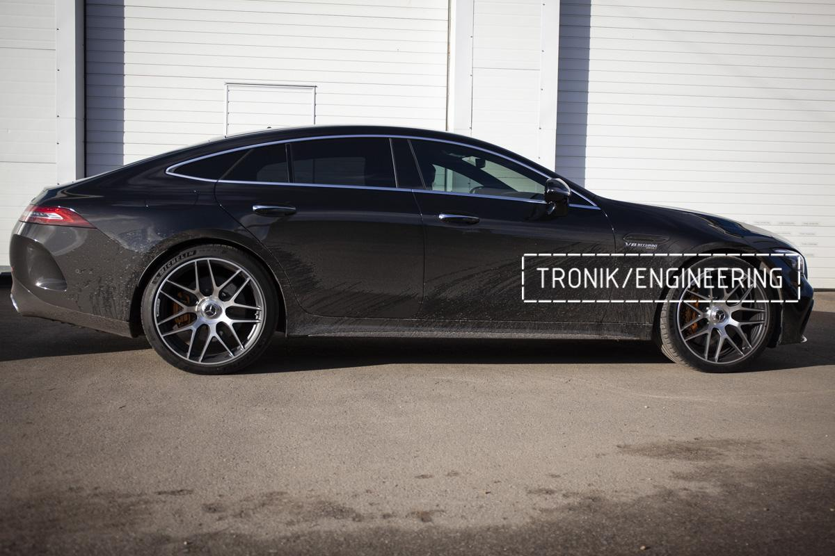 Карбон-керамическая тормозная система Mercedes-Benz AMG GT W290. Фотография 19