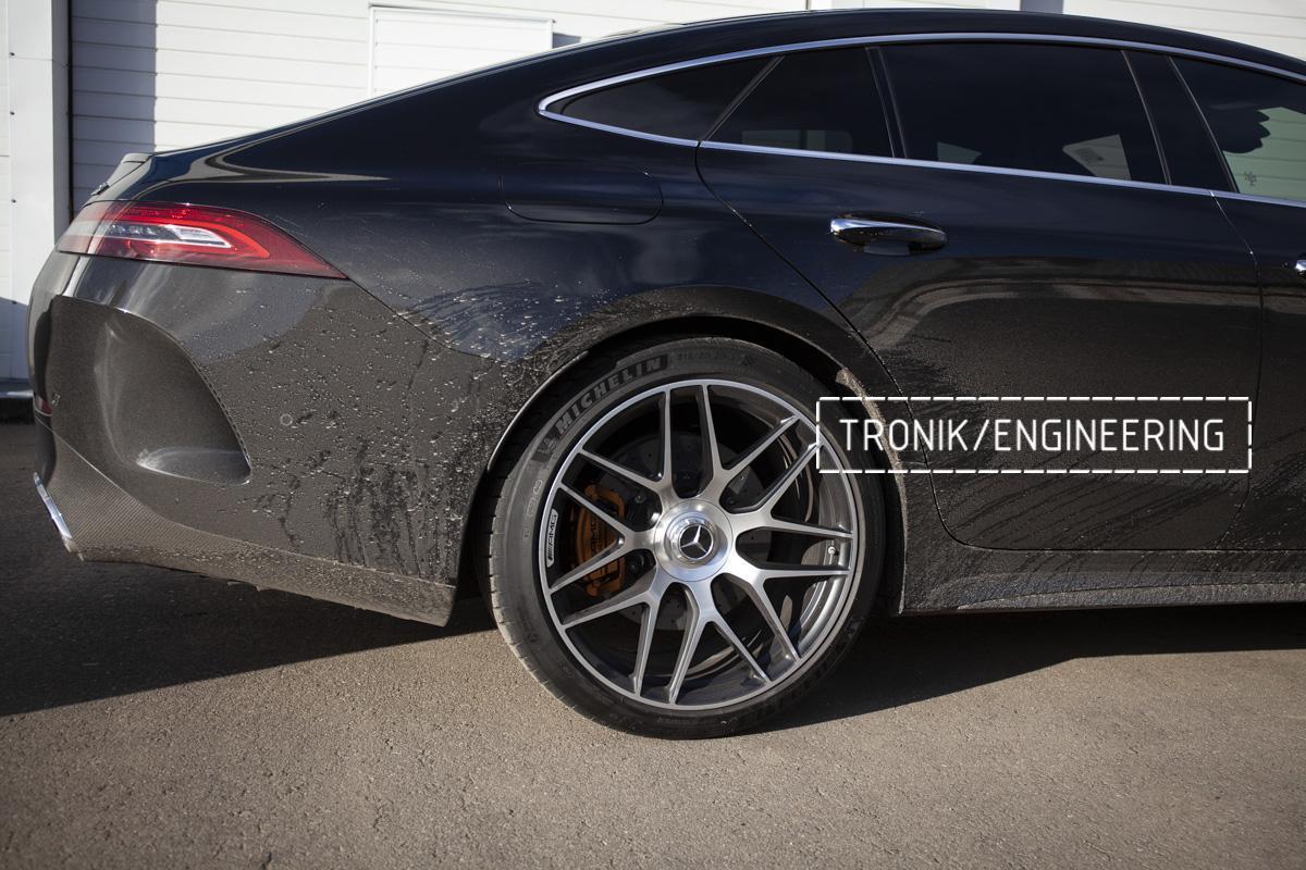 Карбон-керамическая тормозная система Mercedes-Benz AMG GT W290. Фотография 21