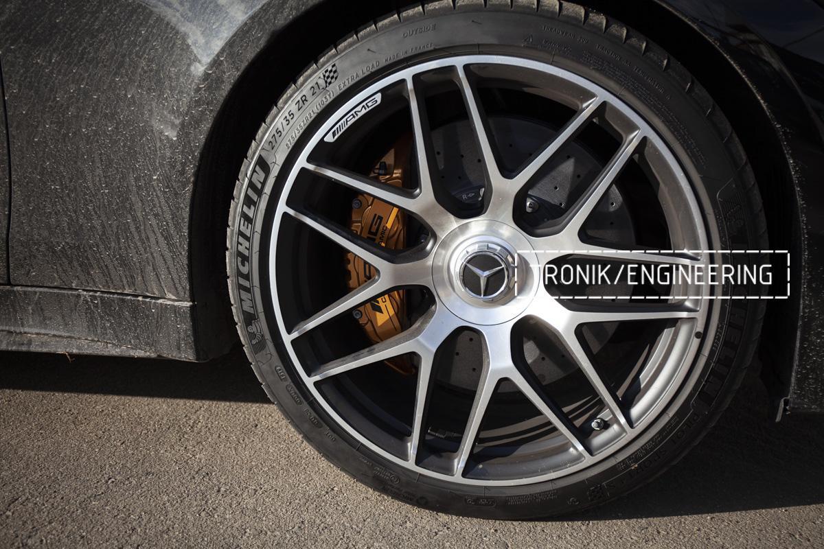 Карбон-керамическая тормозная система Mercedes-Benz AMG GT W290. Фотография 15