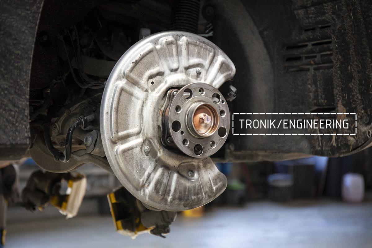 Карбон-керамическая тормозная система Mercedes-Benz AMG GT W290. Фотография 7