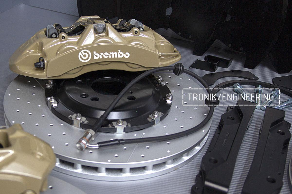 Mercedes-Benz W447 V-class brakes. pic 3