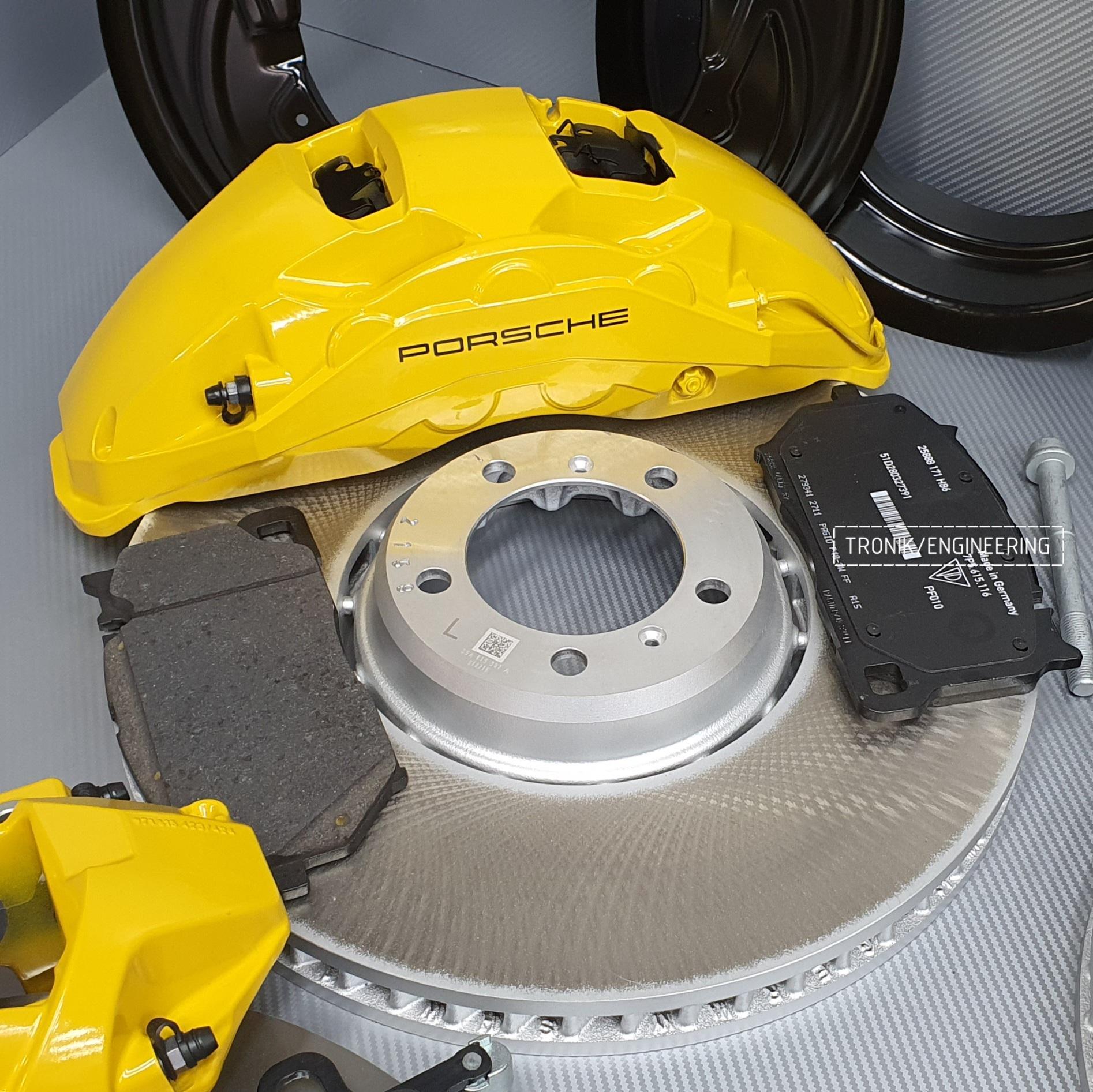 Комплект дооснащения тормозной системой Porsche Cayenne 9YA. Фотография 10