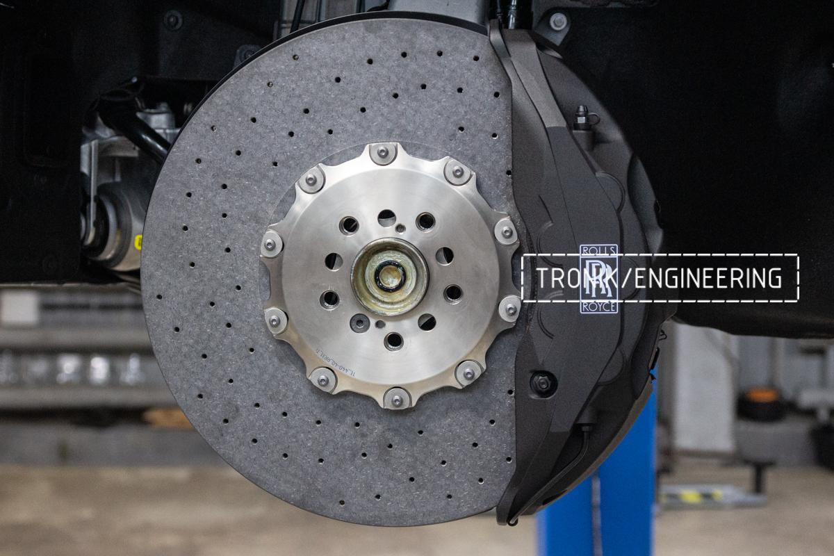 Rolls-Royce carbon-ceramic brakes. pic 13