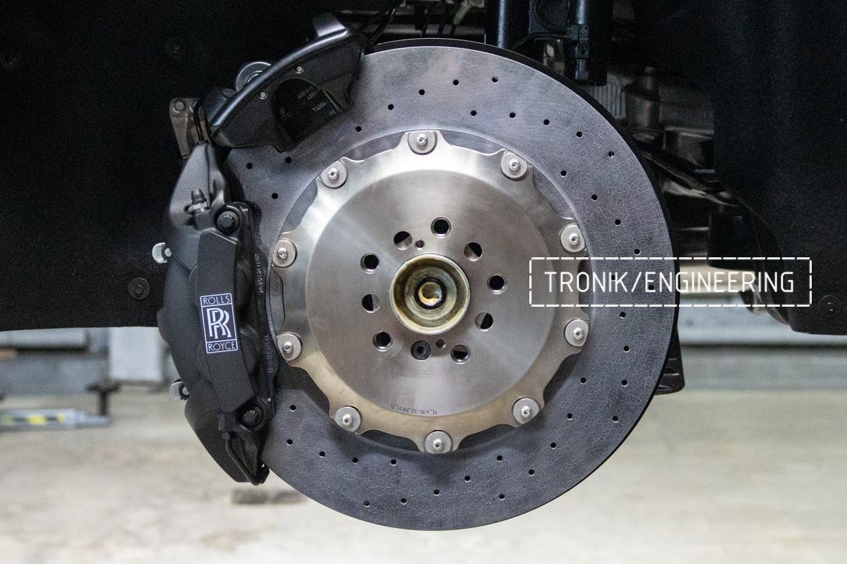 Rolls-Royce carbon-ceramic brakes. pic 14