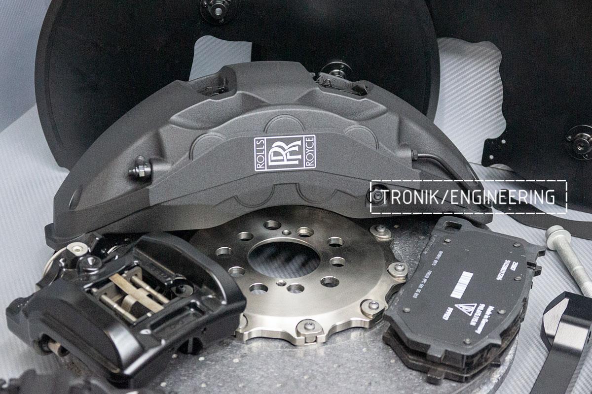 Rolls-Royce carbon-ceramic brakes. pic 3
