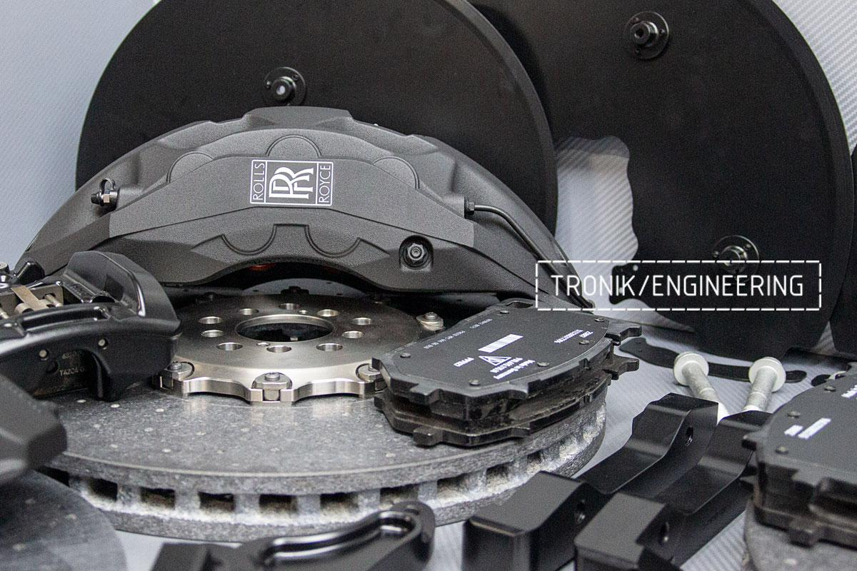Rolls-Royce carbon-ceramic brakes. pic 5
