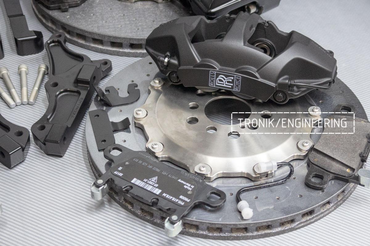 Rolls-Royce carbon-ceramic brakes. pic 7