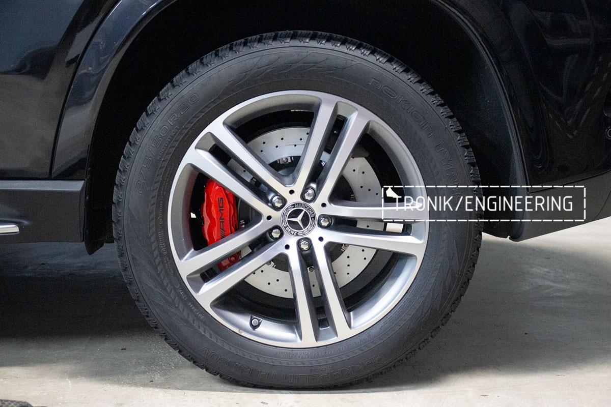 Комплект тормозной системы Mercedes-Benz W167 GLE/GLS. Фотография 19