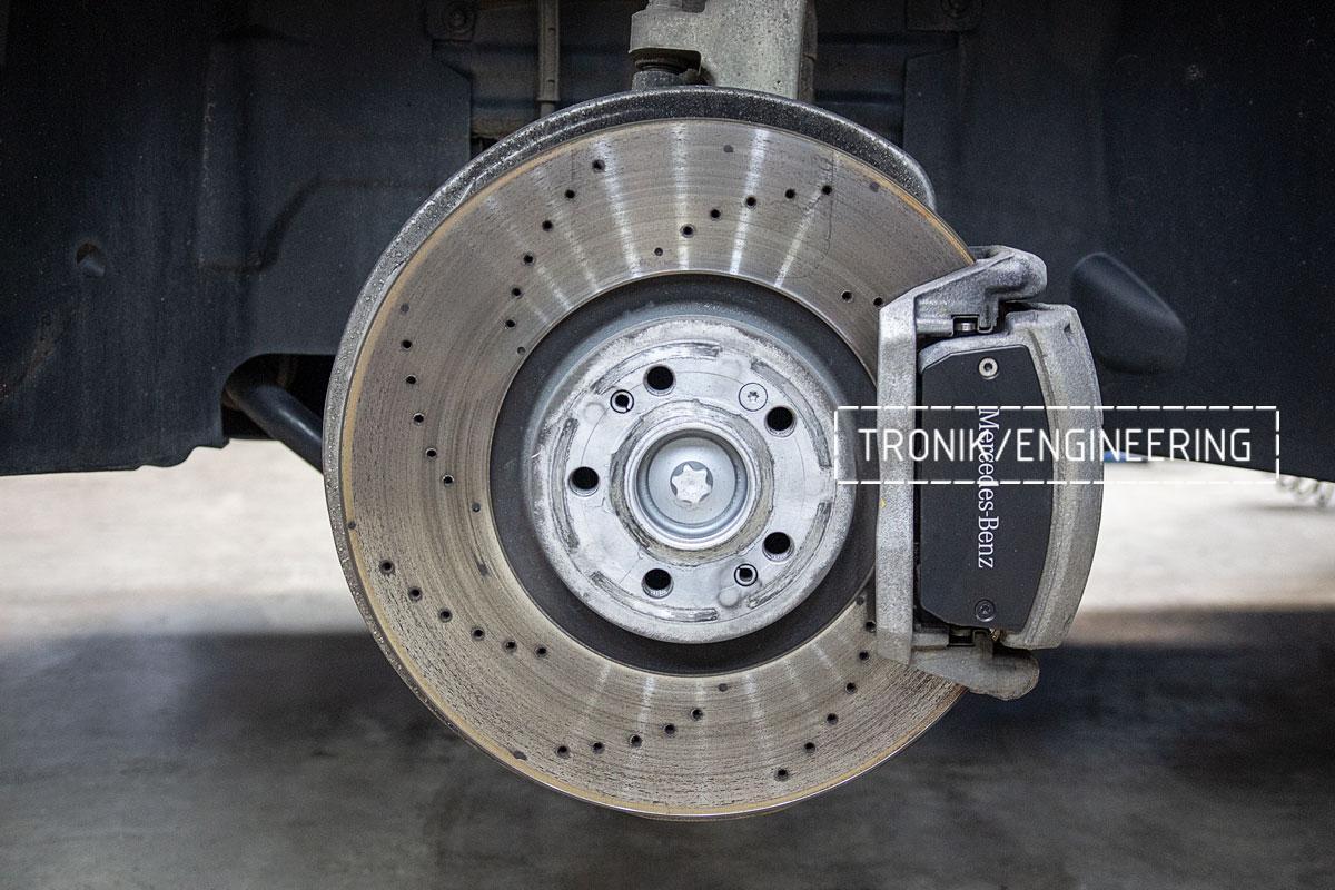 Оригинальная тормозная система Mercedes-Benz W167. фото 2