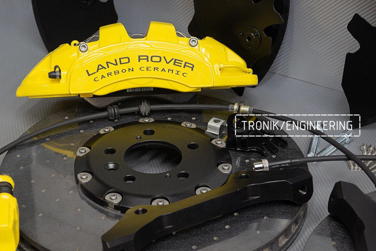 Land Rover L405 Карбон-керамическая тормозная система_8