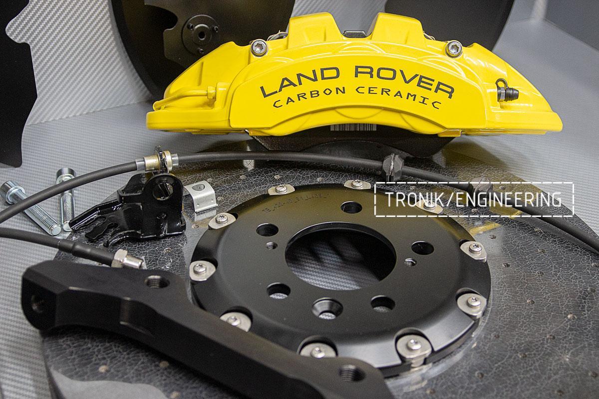 Land Rover L405 Карбон-керамическая тормозная система_6