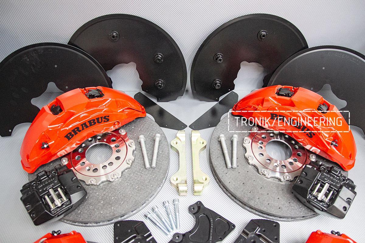 Комплект карбон-керамической тормозной системы Mercedes-Benz W463. Фото 2