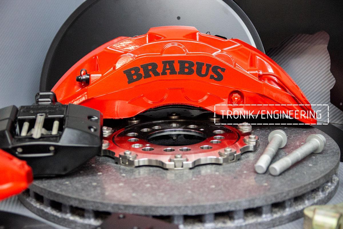 Комплект карбон-керамической тормозной системы Mercedes-Benz W463. Фото 4