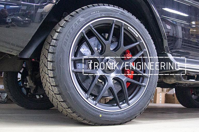 Карбон-керамическая тормозная система Mercedes-Benz W463.276 G-class задняя ось
