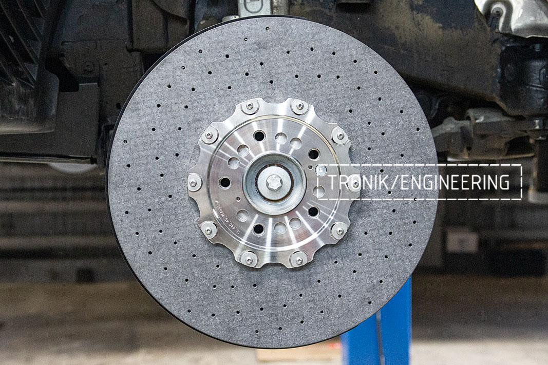 Передня ось карбон-керамическая тормозная система Mercedes-Benz W463.276 G-class. фото 1