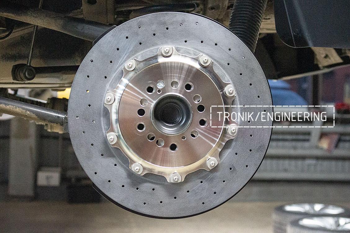 Задня ось карбон-керамическая тормозная система Mercedes-Benz W463.276 G-class. фото 1