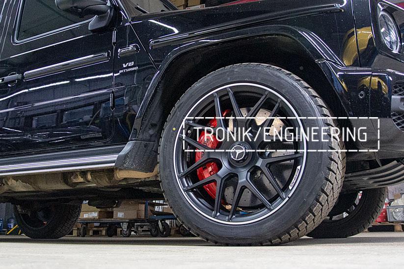 Карбон-керамическая тормозная система Mercedes-Benz W463.276 G-class передняя ось