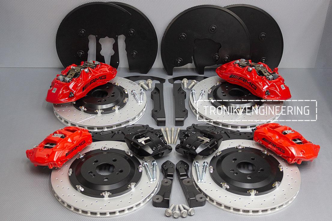 Комплект тормозной системы Mercedes-Benz W167. фото 1